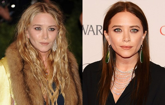 <strong>Mary-Kate Olsen </strong> <br>Another Olsen who's given brunette a shot? Mary-Kate, who has since returned to her natural blonde and has reportedly sworn off brunette for good.