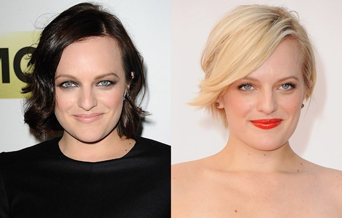 <strong>Elisabeth Moss </strong> <br>The Mad Men actress had a brief love affair with platinum blonde before returning to her signature brunette. She's currently sporting an in-between shade of the two.