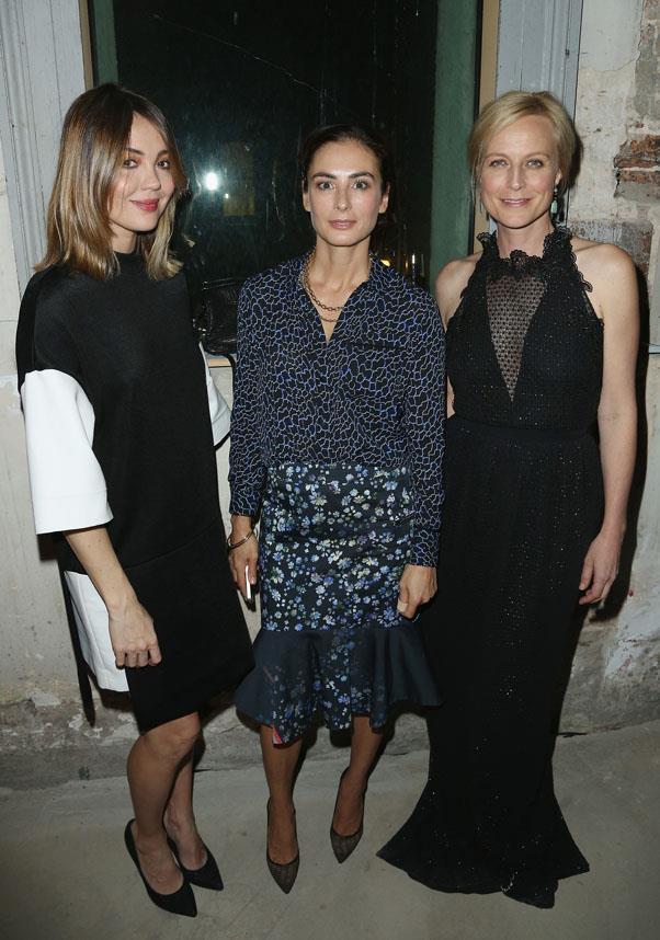 Emma Lung, Francesca Amfitheatrof and Marta Dusseldorf.