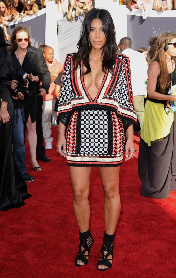 Another Balmain number at the 2014 MTV Video Music Awards.