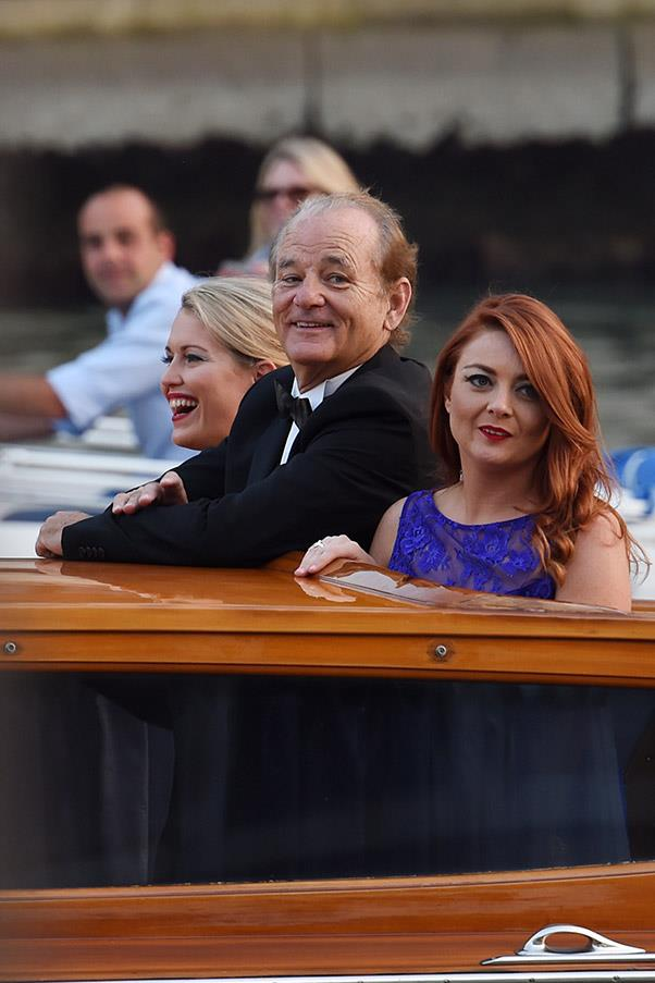 Bill Murray joined the celebrations.