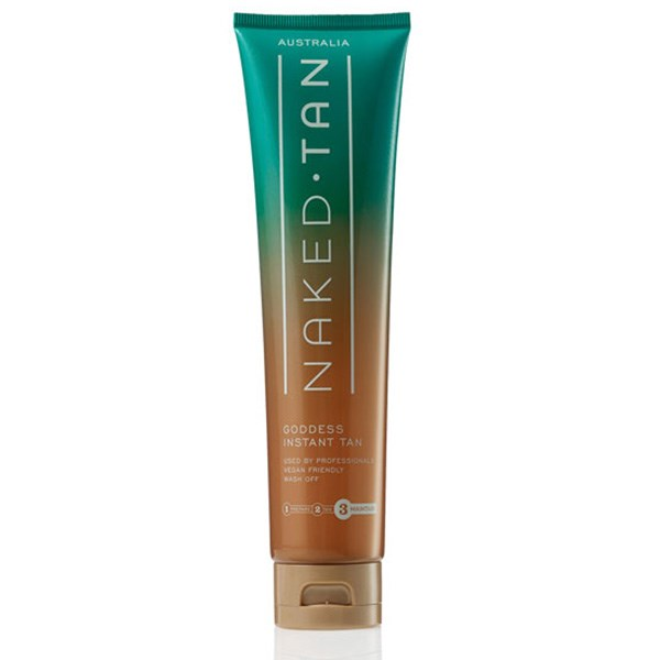"""<strong>Naked Tan Goddess Instant Tan</strong> <br>The new range of at-home tanning products from Naked Tan (following the popularity of their in-salon spray tans) are fool proof for summer. Try the Instant Tan for a natural bronzed glow, perfect for a special occasion. <br><em> Naked Tan Goddess Instant Tan, $28<em>  <a href=""""http://www.nakedtan.com.au/Products/Goddess-Instant-Tan.html"""">nakedtan.com.au</a>"""