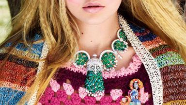 Rare gems: Gigi Hadid models the season's best jewels