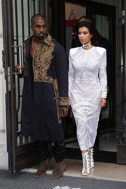 <strong>What</strong>: Another coordinating Balmain moment, this time for the house's Spring 2015 show. <br><strong>When:</strong> September 2014 <br><strong>Where:</strong> Paris