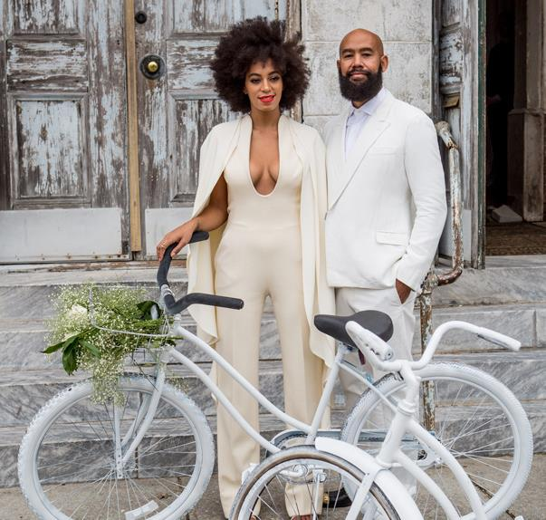 All the outfits from Solange's amazing wedding weekend