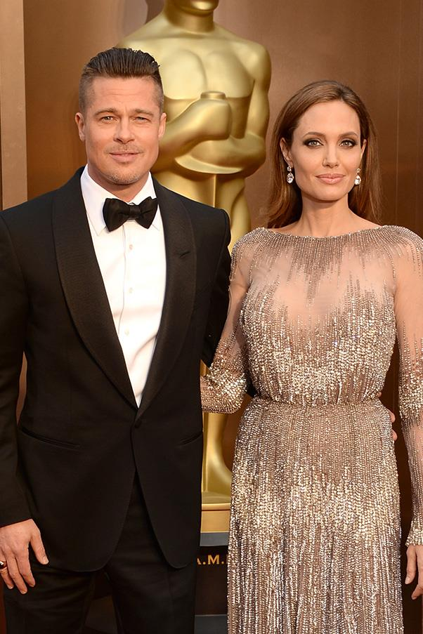 <strong>Who: Angelina Jolie and Brad Pitt</strong> <em>What: Quirky, personal gifts</em> <br><br>Brad Pitt might just be the most spoilt husband in Hollywood, if wife Angelina Jolie's gift-giving track record is anything to go by. In early 2012, the <em>Maleficent</em> actress gifted her long-time love a waterfall in California, so Pitt could build a home next to it. <br><br>That same year, she forked out $1.6 million for a helicopter and flying lessons for her man, and most recently, Jolie's gifts to her husband for their wedding reportedly included a $290,000 typewriter owned by writer Ernest Hemingway, and a $3 million 1952 Patek Philippe platinum chronometer.