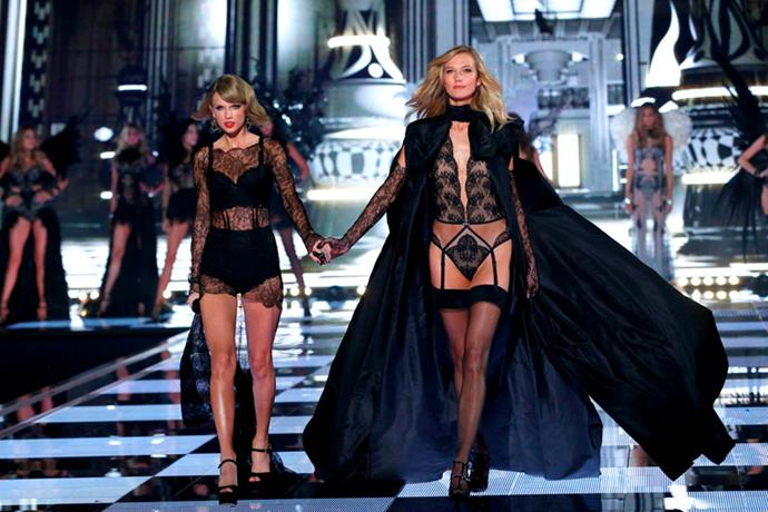 Taylor Swift and Karlie Kloss open the finale