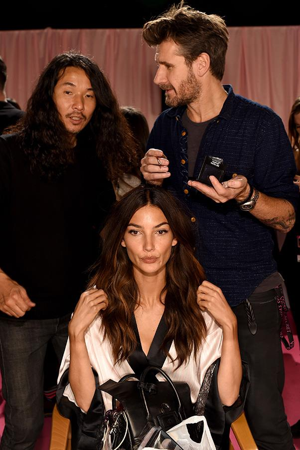 """<strong>Lily Aldridge</strong> <br>""""I'm looking forward to a proper tea service, like a high tea, and I'm going to have English breakfast tea with real cream and sugar, the cream in England is so much better than in America! And then scones with butter and jam."""""""