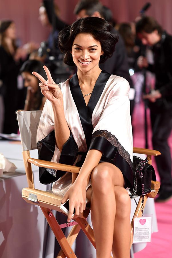 """<strong>Shanina Shaik</strong> <br>""""A glass (or two) of champagne at the after party and probably a bowl of pasta followed by icecream when I get back to the hotel."""""""