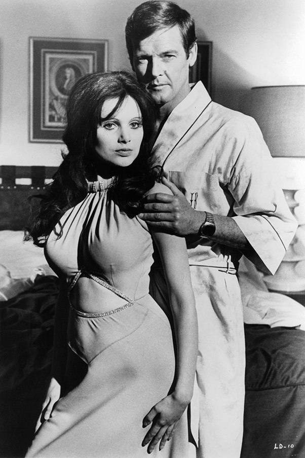 <strong>Madeline Smith</strong> <br>As Miss Caruso in <em>Live and Let Die</em>, 1973