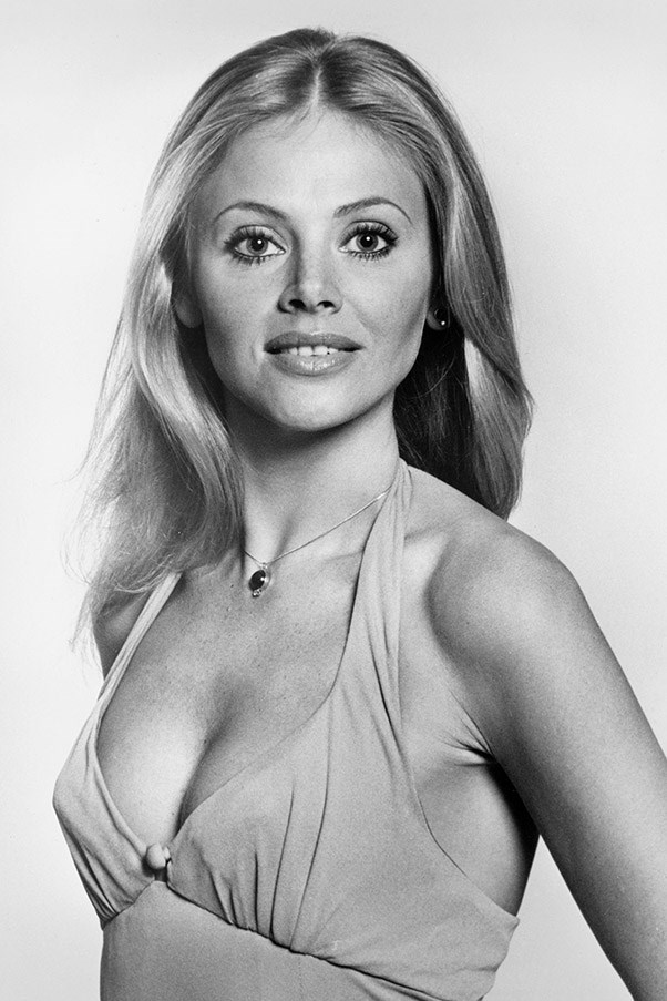 <strong>Britt Ekland</strong> <br>As Miss Mary Goodnight in <em>The Man with the Golden Gun</em>, 1974