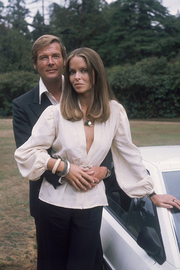 <strong>Barbara Bach</strong> <br>As Major Anya Amasova in <em>The Spy Who Loved Me</em>, 1977
