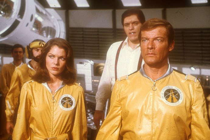 <strong>Lois Chiles</strong> <br>As Dr. Holly Goodhead in <em>Moonraker</em>, 1979