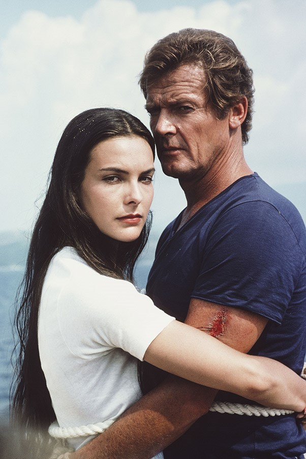 <strong>Carole Bouquet</strong> <br>As Melina Havelock in <em>For Your Eyes Only</em>, 1981