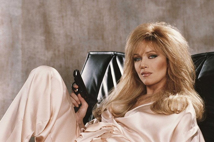 <strong>Tanya Roberts</strong> <br>As Stacey Sutton in <em>A View To Kill</em>, 1985