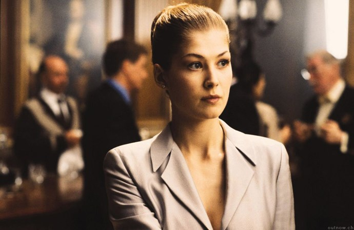 <strong>Rosamund Pike</strong> <br>As Miranda Frost in <em>Die Another Day</em>, 2002