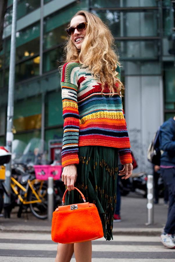 <strong>A coloured bag</strong> <br>Works if you're wearing monochrome, neutrals, colour, or suddenly realise you're in top-to-toe black. Which is the long way of saying: it works with everything you own.