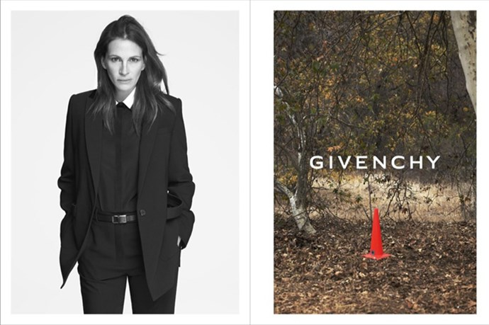 Julia Roberts for Givenchy spring/summer 2015.