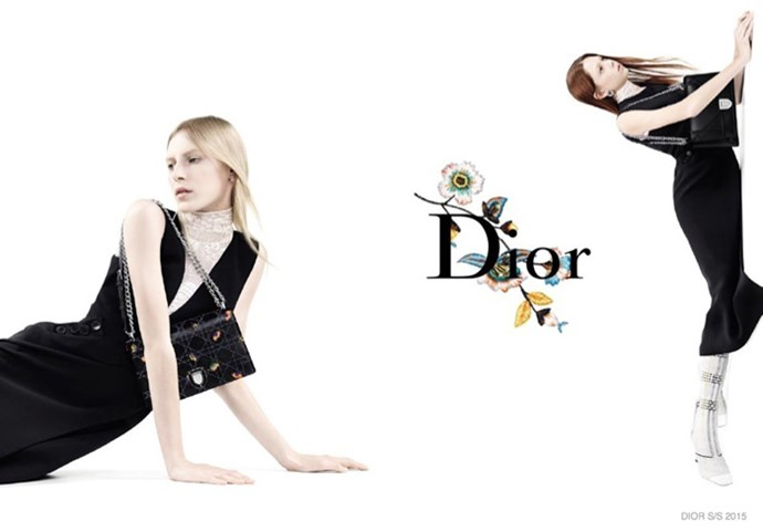 Dior goes ultra-minimalist for its latest campaign, with Lexi Boling, Natalie Westling and Australian supermodel Julia Nobis fronting their spring/summer 2015 advertising. The campaign was photographed by Willy Vanderperre.