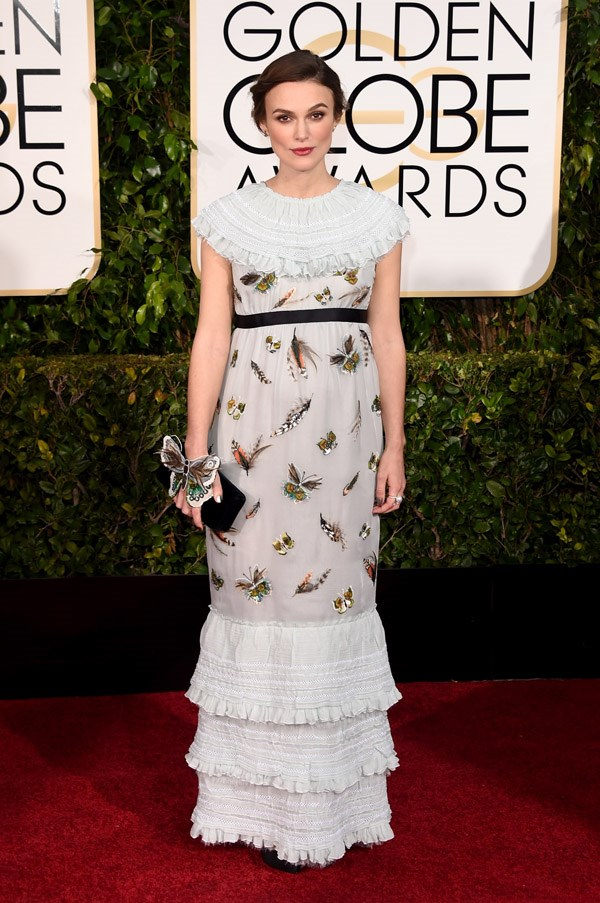 """<strong>Keira Knightley in Chanel</strong> <br><br>""""Taxidermy chic? Trust the ethereal Keira Knightley (and Chanel) to make butterflies look this cool."""" <br>– Jessica Matthews, Deputy Chief Subeditor"""