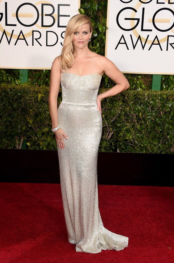 """<strong>Reese Witherspoon in Calvin Klein</strong> <br><br>Pretty amazing. I can't really fault it, actually."""" <br>- Karla Clarke, Junior Fashion Editor"""