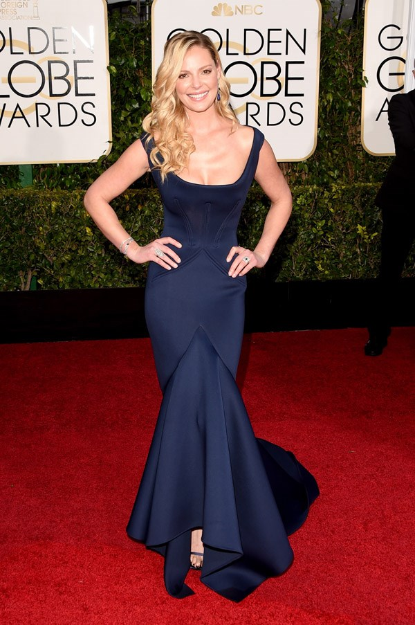 """<strong>Katherine Heigl in Zac Posen</strong> <br><br>""""I'm secretly rooting for Dr. Izzy Steven's comeback ... but this isn't it."""" <br>- Isabel Edwards-Brown, Online Editor"""