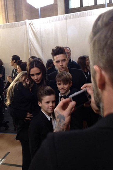 NYFW in photos: The Beckhams sit front row at VB's show