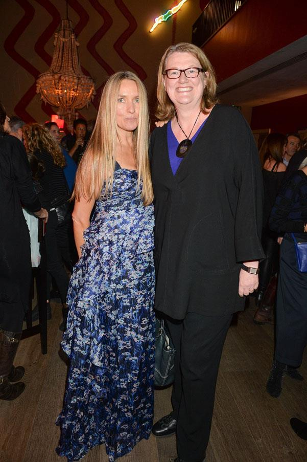 Collette Dinnigan and Marion Hume