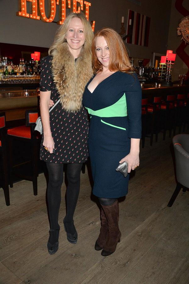 Fiona Seres and Imogen Banks