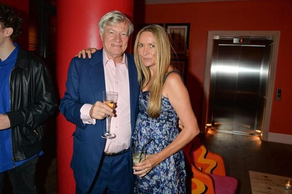 Geoffrey Robertson and Collette Dinnigan