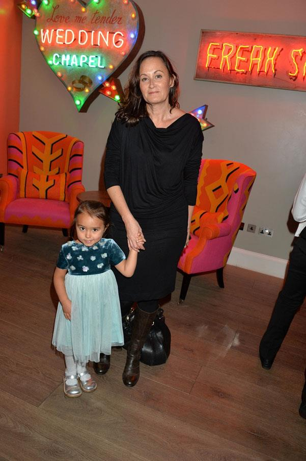 Leanne Richardson and her daughter Libby