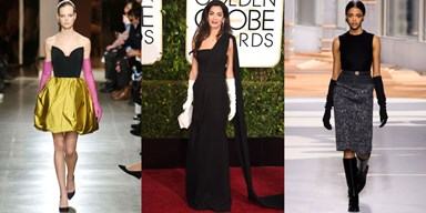 Did Amal Clooney Bring Back Opera Gloves?