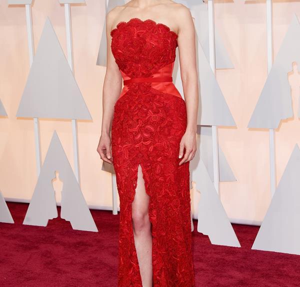 Rosamund Pike on the Oscars Red Carpet