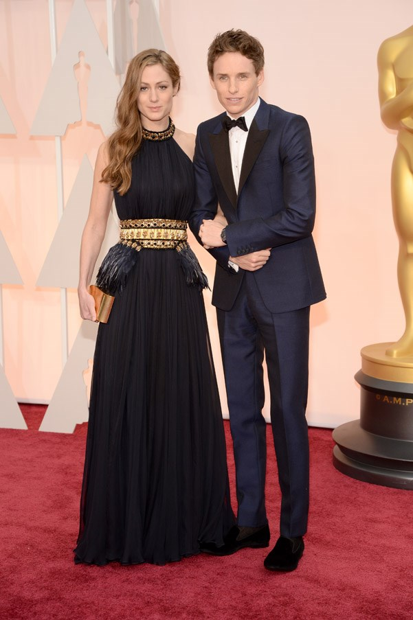 Eddie Redmayne and wife Hannah Bagshaw always look great on the red carpet together.