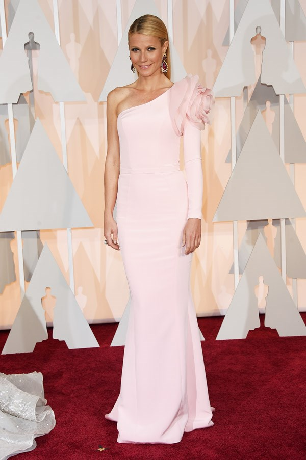 We know Gwyneth Paltrow's Ralph and Russo gown will divide audiences, but we're personally fans of this gorgeous pastel pink gown.