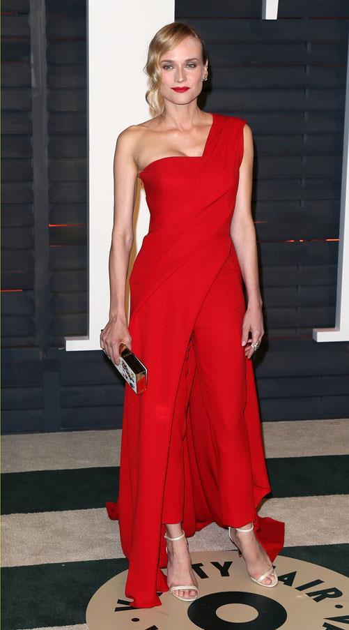 Diane Kruger in Donna Karan Atelier.