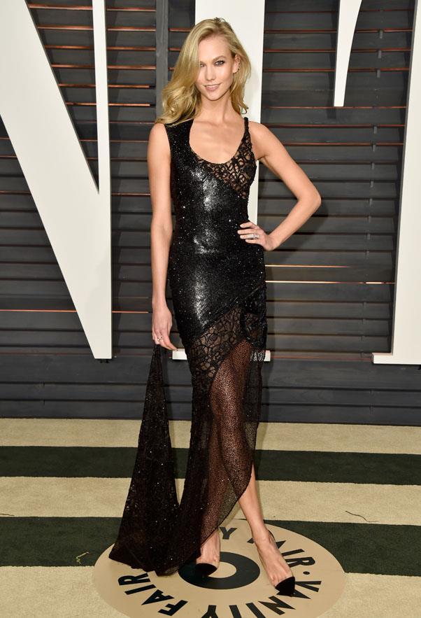Karlie Kloss in Atelier Versace.