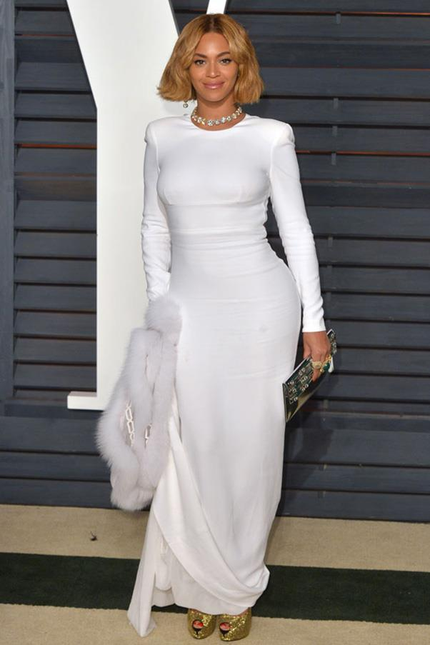 Beyonce is a vision in Stella McCartney.