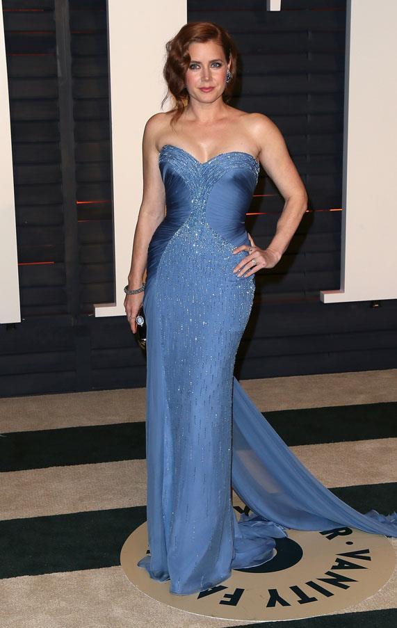 Amy Adams in Atelier Versace.