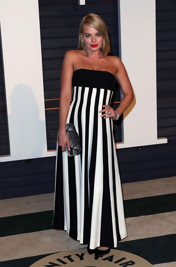 Margot Robbie dons Dior.