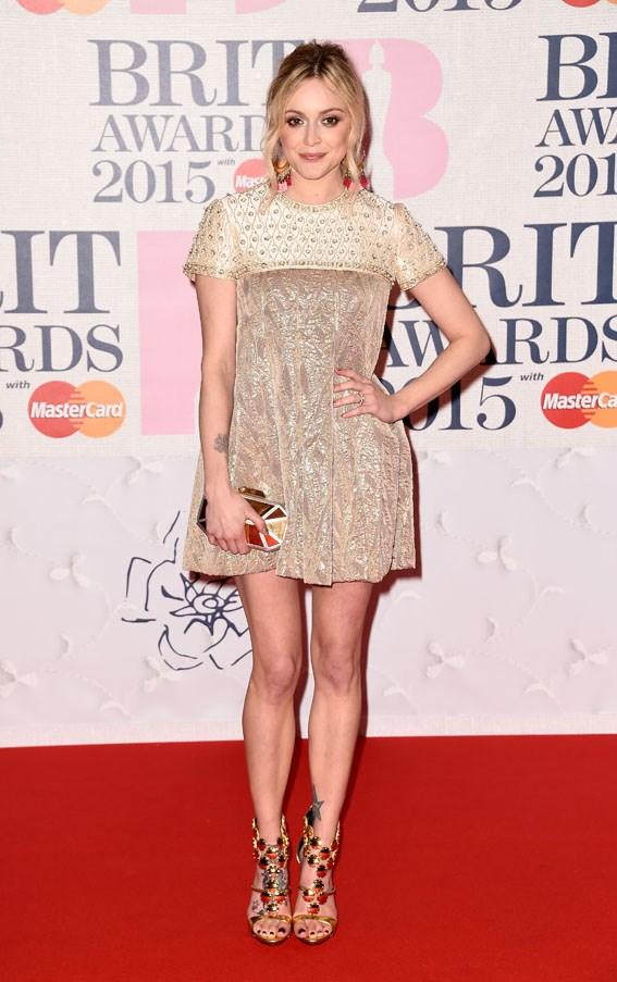 Radio and TV presenter Fearne Cotton.