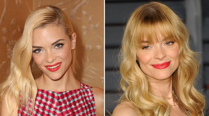 <strong>Jaime King</strong> <br>The star's new honey locks and bangs lent her a glow that will surely outlast summer.
