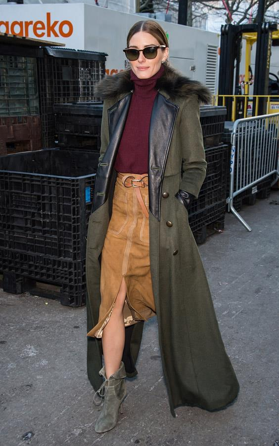 While we've always got our eye on Olivia Palermo, she truly captured our attention during New York fashion week with her endless supply of on-point '70s ensembles.