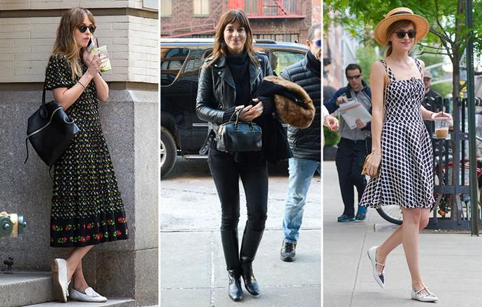 Dakota Johnson's off-duty style is impeccable. Here's photographic proof.