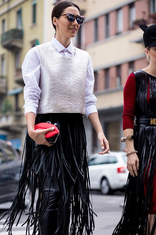 Fashion consultant and blogger Diana Enciu.
