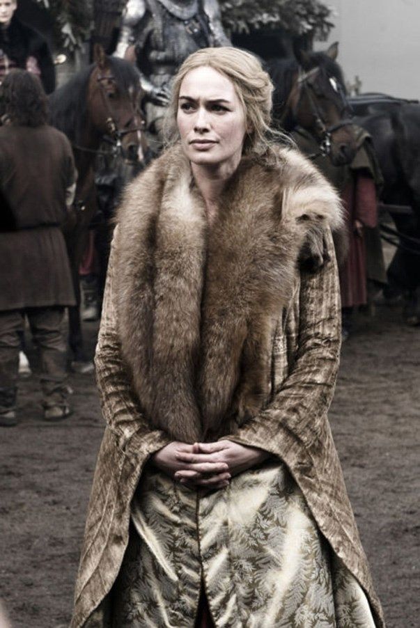 <strong>SEASON 1</strong> <br><br>Cersei Lannister <br><br>Photo credit: HBO
