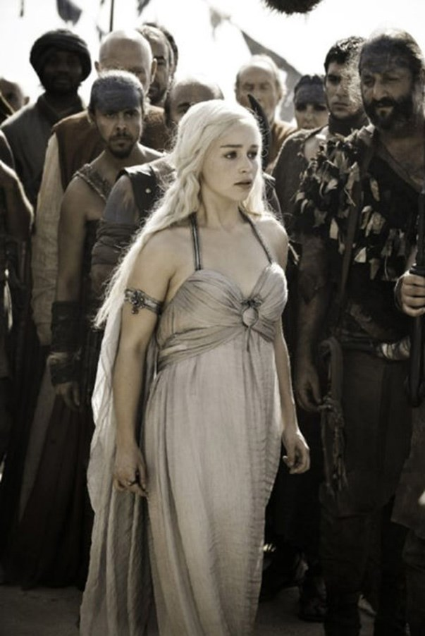 <strong>SEASON 1</strong> <br><br>Daenerys Targaryen <br><br>Photo credit: HBO
