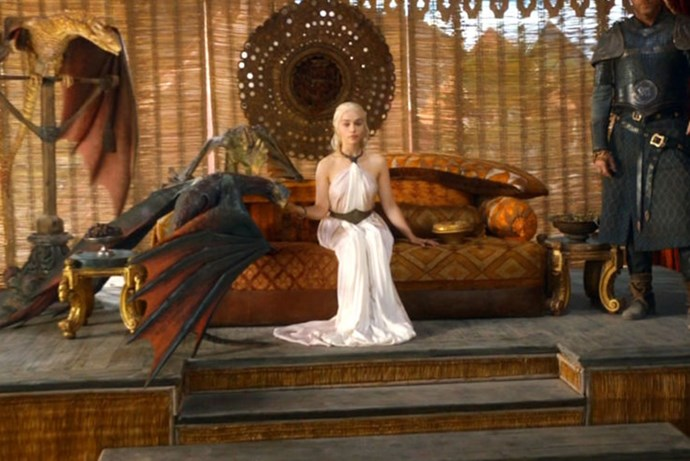<strong>SEASON 3</strong> <br><br>Daenerys Targaryen <br><br>Photo credit: HBO