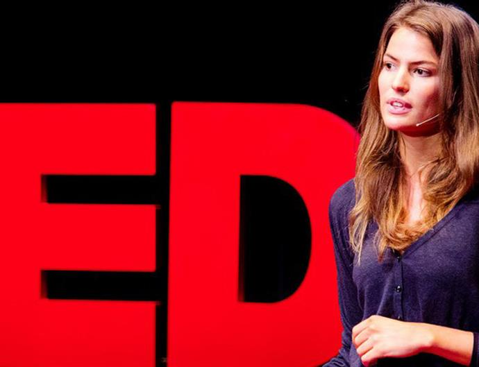 Cameron Russell at TED
