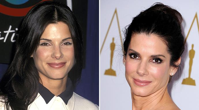 <strong>Sandra Bullock</strong> <br><br>We're calling it – Sandra Bullock might just be the most youthful looking fifty-year-old the world has ever seen. <br><br>The Oscar winner celebrated her milestone birthday last year, and we looked this good at fifty, we'd be celebrating too!